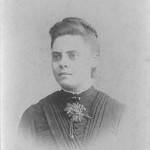 Addie Walling, cerca de 1890