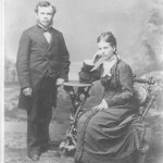 Dr. E. J. Waggoner and esposa, Jessie F